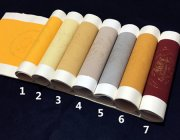 BY074 Hmay Antique Semi-sized Paper Scrolls 5 Pairs