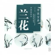 HH113 Chinese Painting Book - Orchid