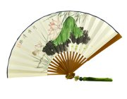 ZS002 Chinese Style Fan with Original Artworks