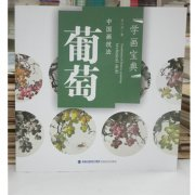 HH112 Chinese Painting Book - Grape