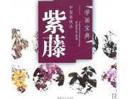 HH115 Chinese Painting Book - Wisteria
