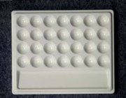 YL007 Hmay 29 Well Imitation Porcelain 7.3 In Mixing Tray