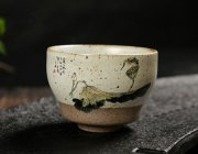 FJ046 Porcelain Freehand Teacup