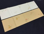 BY077 Hmay Antique Semi-sized Paper Scrolls 2 Pairs