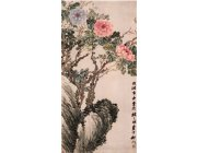 PP011 Pre-mounted Wall Painting Scroll